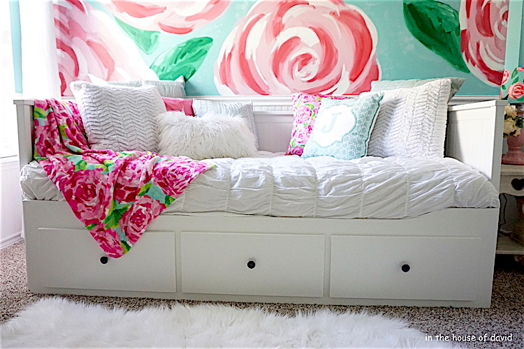 Room Tour: Lilly Pulitzer Theme Little Girl Room - In The House Of ...